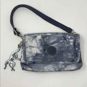 Kipling Gray Tie Dye Small Bag